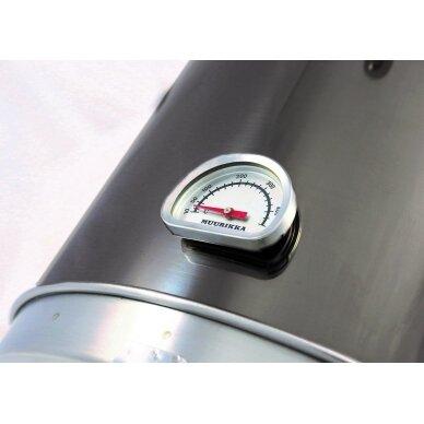 Muurikka 1200W Black Edition elektrinė rūkykla su termometru 2