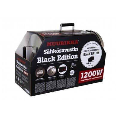 Muurikka 1200W Black Edition elektrinė rūkykla su termometru 3