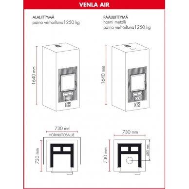 Tiileri Funkkis Venla Air (su oro konvekcija) 4